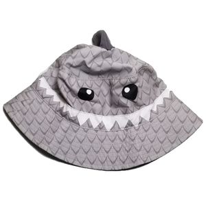 Carter's Boys Shark Bucket Beach Pool Hat 2t-4t